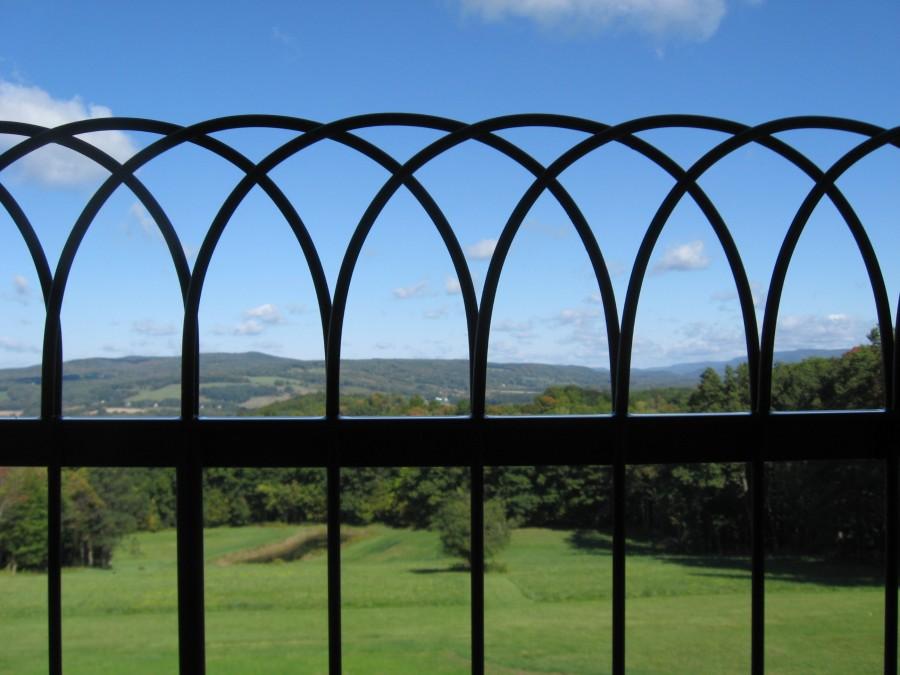 Small Wrought Iron Balcony Railing